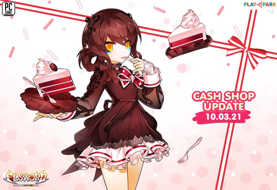 Cash Shop Update 10/3/2564