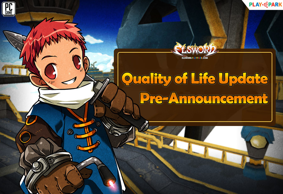 [Pre-Announcement] Quality of Life Update