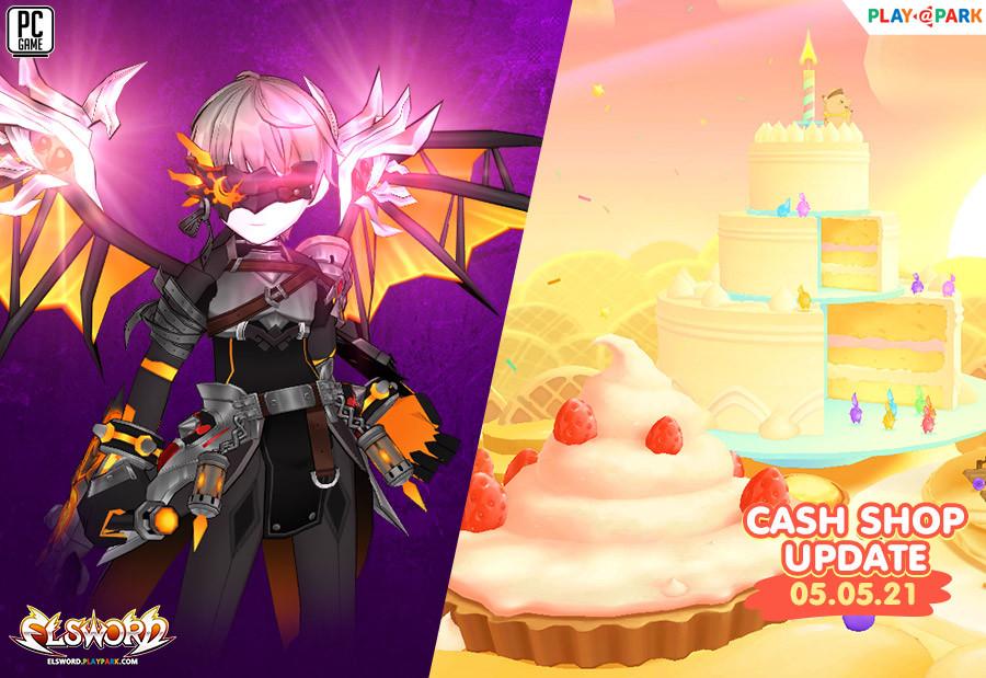 Cash Shop Update 5/5/2564