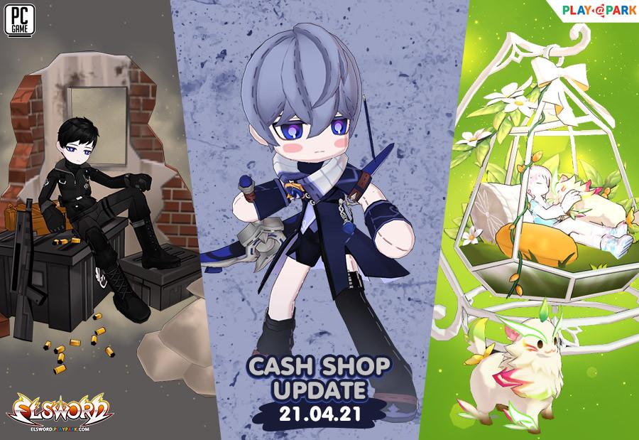Cash Shop Update 21/4/2564