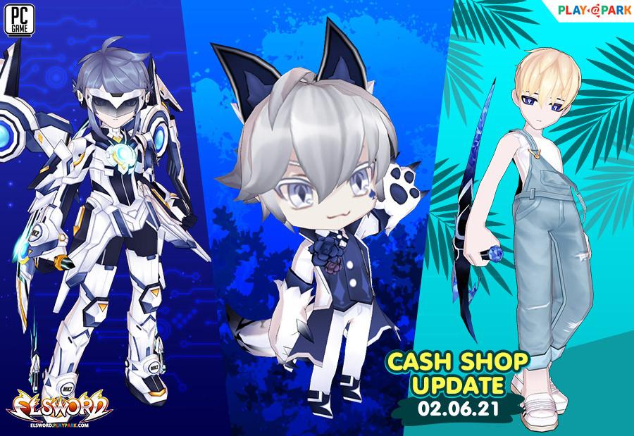 Cash Shop Update 2/6/2564
